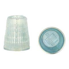 Prym Thimble zinc die-cast 14.00-18.00mm silver - 10pcs