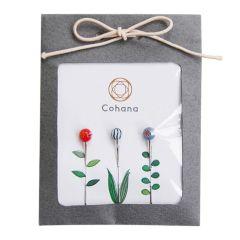 Cohana Glass-head pins assorted - 1x3pcs