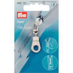 Prym Zipper puller Ring SIL. col. - 5pcs.  K
