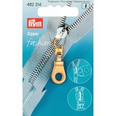 Prym Zipper puller Ring gold col. - 5pcs.  K