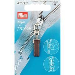 Prym Zipper puller Pure Dark brown - 5pcs.  S