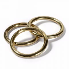 Prym Hollow Rings for curtains MS 18-23mm gold col. -5pcs. M