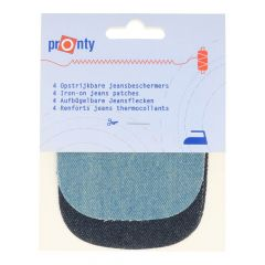 Pronty Iron-on Knee Patches light + dark 4 pcs - 10pcs
