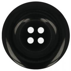 Button black - 35-50pcs