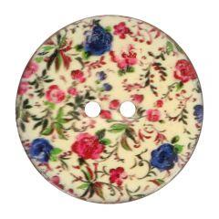 Button Coconut Flower - 30-50pcs