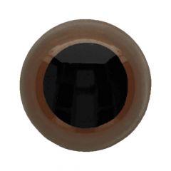 Animal eyes - safety eyes coloured 15mm - 40pcs