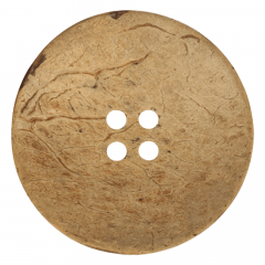 Button coconut 4 holes size 70-120 - 25-30pcs