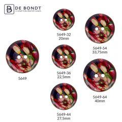 """Button Coconut tulip flower 32""""-64"""" - 30-50pcs"""