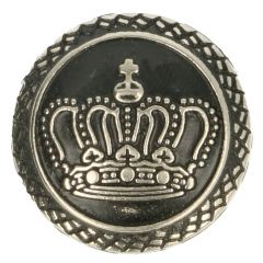 Button metal crown size 32 - 20mm - 40pcs