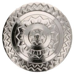 Button metal Iceland size 36 - 22.50mm - 50pcs