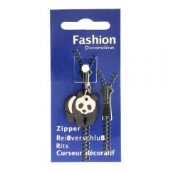 Zipper puller children rubber  -  3pcs