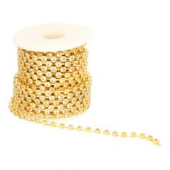 Diamond Ribbon Gold or silver 4mm  -  9,2m