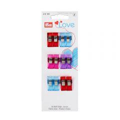 Prym Love fabric clips 2.6-5.5cm - 5pcs