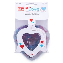 Prym Love fabric clips 2.6cm - 3x40pcs