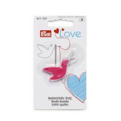 Prym Love needle threader birdy - 5pcs