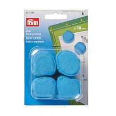 Prym Fixing weights mini 30mm blue - 4x3ps