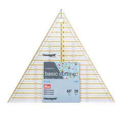 Prym Omnigrid patchwork ruler triangle multi 20cm - 3pcs