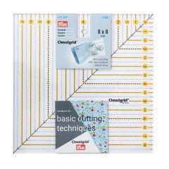 Prym Omnigrid patchwork ruler inch - 3pcs