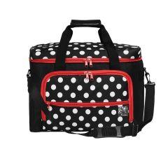 Prym Sewing machine case polka dots 44x20x35cm - 1pc