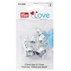 Prym Love tassel caps 10-16mm - 3x6pcs