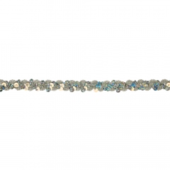 Sequin ribbon 10mm - 20m - SI