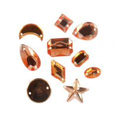 Sale rhinestones assorted - 500pcs