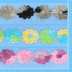 Sale flower ribbon tulle 3x7m - assortment 1