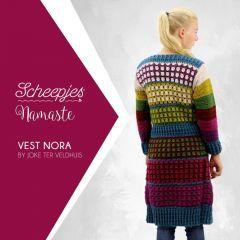 Scheepjes Crochet pattern Namaste cardigan Nora - 10pcs