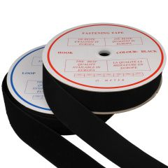 Sew-on fastening tape hook and loop 38mm - 25m