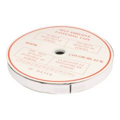 Self-adhesive fastening tape hook 20mm - 20m
