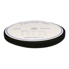 Hook and loop tape, self-adhesive 25mm loop b/w - 25m