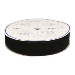 Hook and loop tape, self-adhesive 50mm loop b/w- 20m