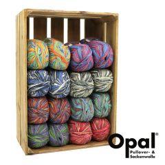 Opal Assortment 6-ply 2x150g - 8 colours - 1pc