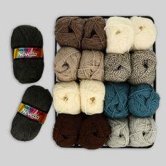 Scheepjes Socky Pulli assortment 2x50g - 9 colours - 1pc