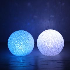 LED light ball 8cm - 5pcs