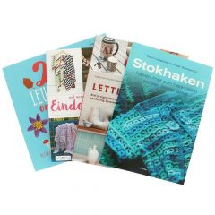 Books assorted crochet and knit small - 1pc