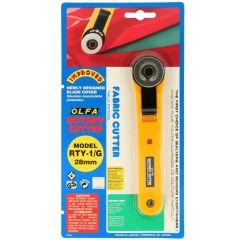 Olfa Fabric rotary cutter 14.5cm - 1pc