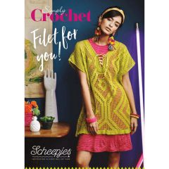 Scheepjes Simply Crochet Filet for You handout - 10pcs