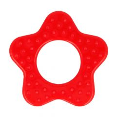 Opry Teething ring star with grips 65mm - 5pcs