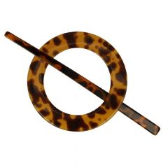 Shawl pin animal print 54-77mm - 5pcs