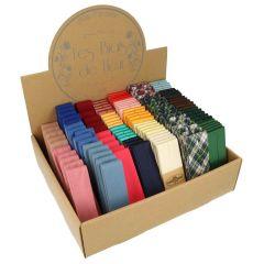 Dox Bias binding assortment cotton-satin - 24 colours - 1pc