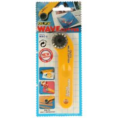 Olfa Rotary wave cutter 13cm - 1pc