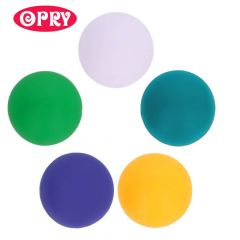 Opry Silicone beads round 20mm - 5x5pcs - AST