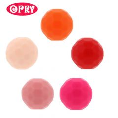 Opry Silicone beads faceted 16mm - 5x5pcs - AST