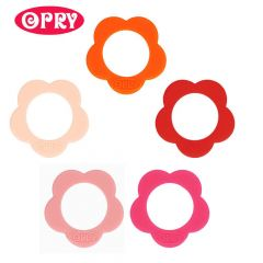 Opry Silicone teething ring flower 40mm - 5pcs - AST