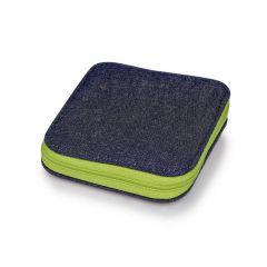 Prym Sewing kit in denim case with zip - 5pcs