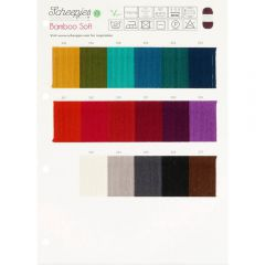 Scheepjes Colour sample cards - 1pc