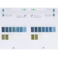 Scheepjes colour sample cards - 1pc