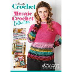 Scheepjes Simply Crochet Mosaic Crochet Collect. UK - 10pcs