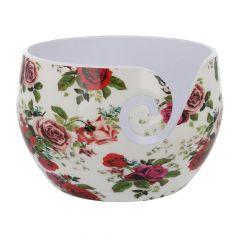 Scheepjes Yarn bowl Roses unbreakable 13,5x9cm - 1pc